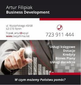 Business Development Artur Filipiak - Pokrycia dachowe Konin