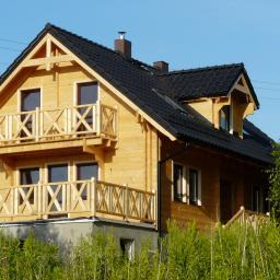 Budowa domów drewnianych z bali