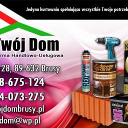 Firma Handlowo-Usługowa Twój Dom S.C. Fierek & Kierzk - Pokrycia dachowe Brusy