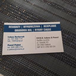 P.P.H.U. ŁUKASZ & PAWEŁ S.C. - Układanie Dachówki Dębica