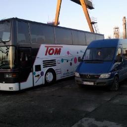 """F.H.U. """"TOM"""" Koźmiński Tomasz - Transport Bobrowniki"""