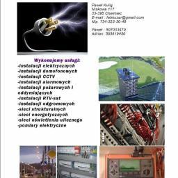 Kuzar Firma elektryczno Budowlana Paweł Kulig - Montaż oświetlenia Chełmiec