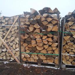 Zakład Handlowo Usługowy DROS-POL - Drewno kominkowe Tłuchowo
