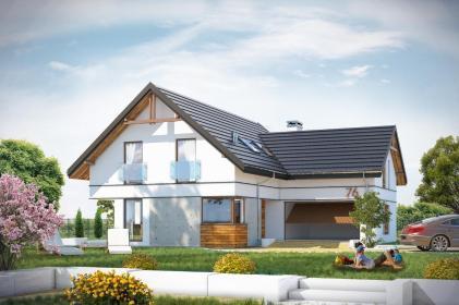AHM studio architektura - Projekty domów Pysznica