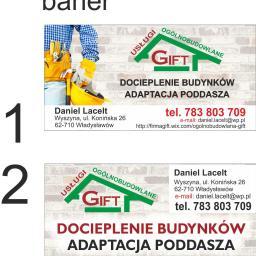 GIFT Usługi Ogólnobudowlane Daniel Lacelt - Ocieplanie Pianką Władysławów