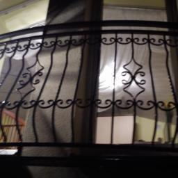 balustrada gięta kuta