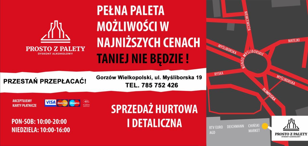więcej zdjęć konkurencyjna cena tania wyprzedaż usa 10 Najlepszych Hurtowni Alkoholu w Słubicach, 2019