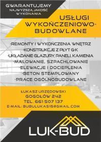 LUK-BUD Łukasz Urzędowski - Adaptacja Poddasza Gogołów