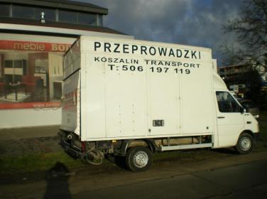"""""""Dima"""" Bartłomiej Dembiński, Przeprowadzki, Transport - Przeprowadzki Koszalin"""