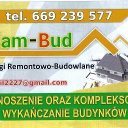 KAM-BUD Kamil Niemiec - Budowa domów Wólka Pełkińska