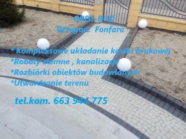 Zakład Usługowo-Budowlany Henryk Fonfara - Budowa Dróg Dobrodzień
