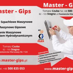 Master - Gips - Tynki Mechaniczne Stegna