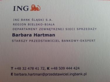 ING Lease Barbara Hartman - Leasing Rybnik