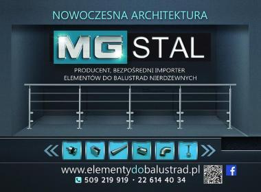 MG STAL Sp. z o.o. Sp.K. - Balustrady drewniane Warszawa