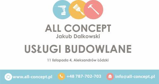 All Concept Jakub Dalkowski - Płyta karton gips Sobień