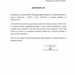 ASPEKT PW Sp. z o.o. - Kancelaria prawna Baranów
