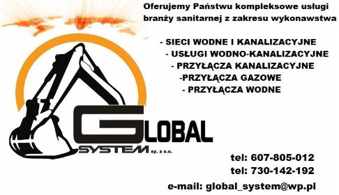 Global_System Sp. z o.o - Instalacje sanitarne Wrocław