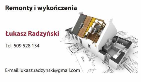 Łukasz Radzyński - Mury oporowe Warszawa
