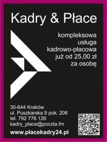 Kadry& płace - Biuro rachunkowe Kraków