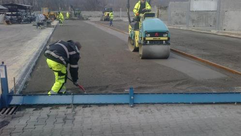 BRUKARSTWO JARCO - Układanie kostki granitowej Węgierska Górka