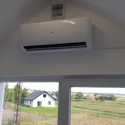 Montaż klimatyzatora AUX Basic 3,5 kW