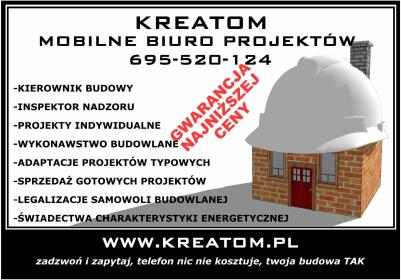 KREATOM - Projekty domów Grodków