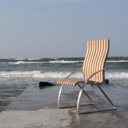Czas relaksu, nowa przestrzeń - prototyp krzesła