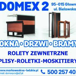 DOMEX 2 JUSTYNA DOMANSKA - Bramy Segmentowe Głowno