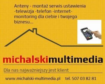 MICHALSKI MULTIMEDIA INSTALACJE ANTENOWE BYDGOSZCZ - Instalatorstwo telekomunikacyjne Bydgoszcz