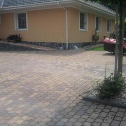 Firma budowlana Drog-bud - Układanie kostki granitowej Kraków