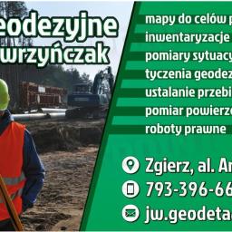 Usługi geodezyjne Jakub Wawrzyńczak - Firma Geodezyjna Zgierz