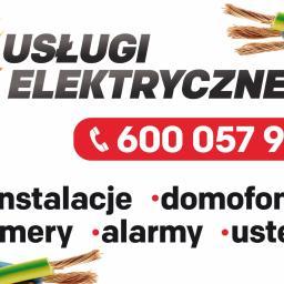 Usługi elektryczne - Montaż Oświetlenia Konstantynow