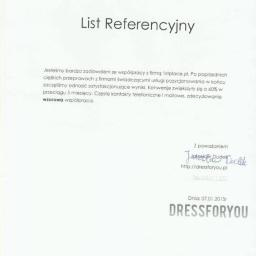 Referencje od DRESSFORYOU