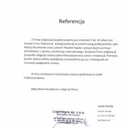 Referencje od LOGINTEGRA