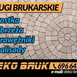 DEKO BRUK - Układanie kostki brukowej Żórawina