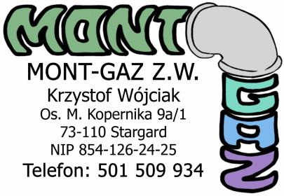 MONT-GAZ Z.W. Krzysztof Wójciak - Montaż Grzejników Stargard