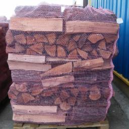 Drewno opałowe liściaste: dąb, olcha, brzoza, jesion , buk