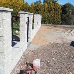Zdjęcia z realizacji ogrodzenia systemowego firmy Joniec