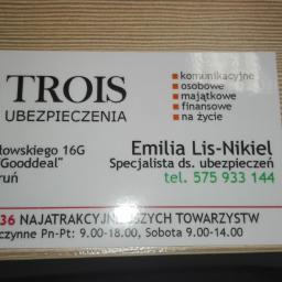 Trois - Ubezpieczenia na życie Toruń