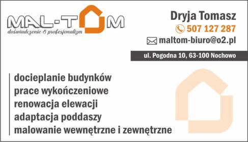 Dryja Tomasz - Ocieplanie budynków Nochowo