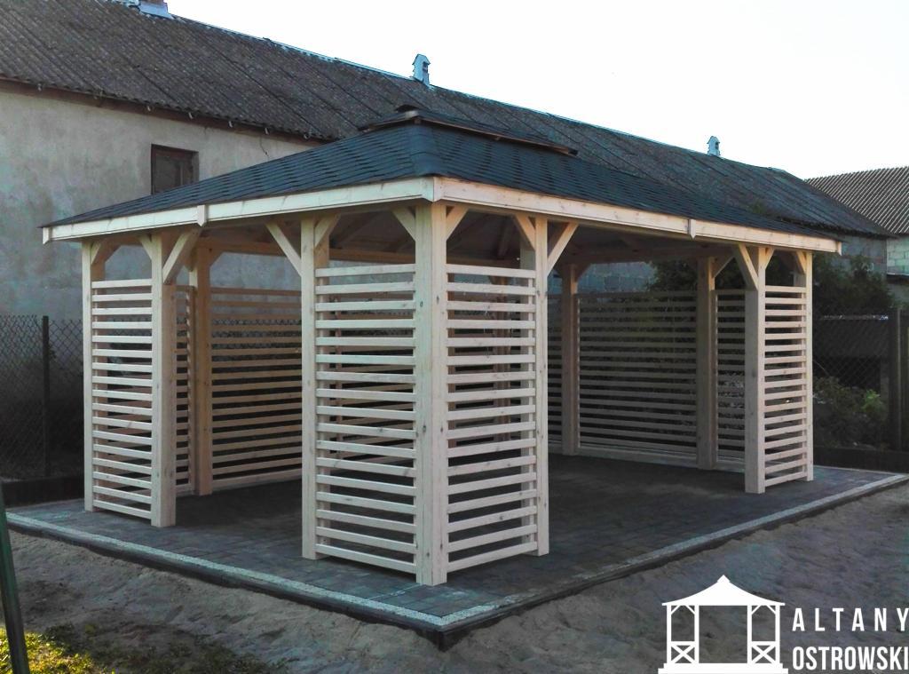 Zlecenie Na Budowę Altanki Z Drewna 21 35m2 Krasowy