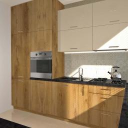 Projektowanie wnętrz kuchni w drewnianym designie