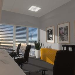 Projektowanie wnętrz minimalistycznego biura