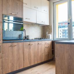 Realizacja kuchni w drewnie wg projektu architekta