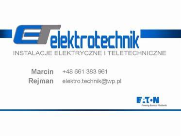 Elektrotechnik - Montaż oświetlenia Głuchów