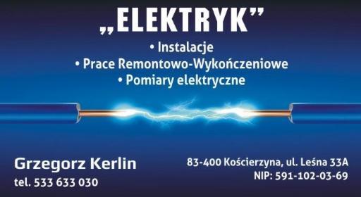 ELEKTRYK - instalacje, prace remontowo-wykończeniowe - Gładzie Szpachlowe Kościerzyna