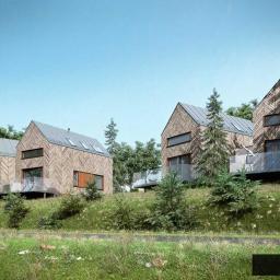 Projekt dwóch budynków mieszkalnych jednorodzinnych w Kotlinie Kłodzkiej