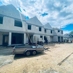 budowa budynków jednorodzinnych dwulokalowych w zabudowie bliźniaczej