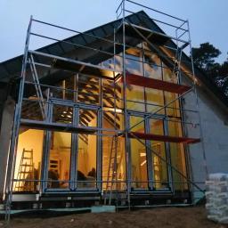 Budowa domu jednorodzinnego - Zalesie Górne.