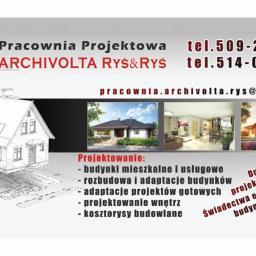 """Pracownia Projektowa """"Archivolta"""" Ryś&Ryś - Projekty Domów Parterowych Chrzanów"""